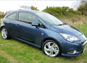 Flying Colours Vauxhal Corsa(spec1) with He-Man Dual Controls, ideal for teaching learner drivers